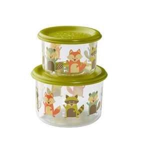 Ore - Good Lunch Snack Containers Small Set-of-Two - Fox