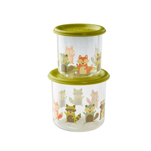 Ore - Good Lunch Snack Containers Large Set-of-Two - Fox