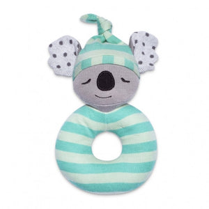 Apple Park - Farm Buddies Teething Rattle - Kozy Koala