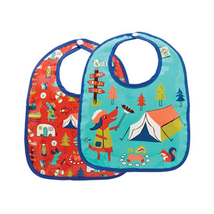 Ore - Mini Bib Gift Set-of-Two - Happy Camper