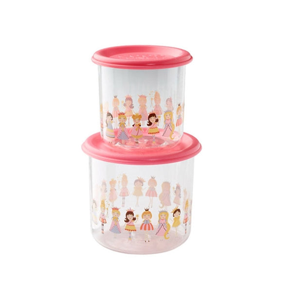 Ore - Snack Containers Large Set-of-Two - Princess
