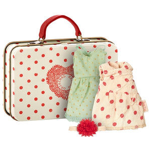 Maileg - Mouse Suitcase - 2 Sets of Clothes