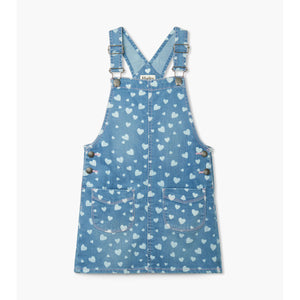 Hatley-Heart Cluster Denim Jumper-blue