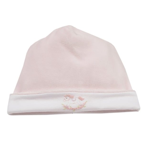 Kissy Kissy - Twin Rockers  Velour Hat - Pink