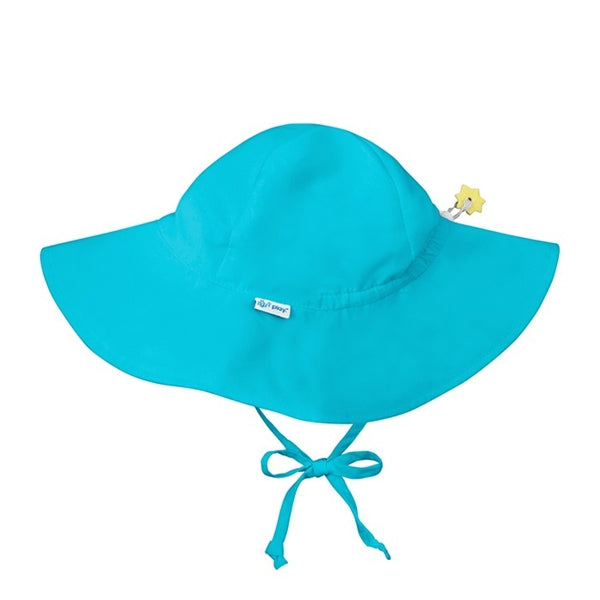 I Play - Brim Sun Protection Hat - Aqua
