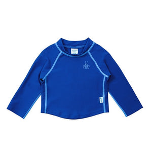 I Play - Long Sleeve Rashguard Shirt - Royal Blue