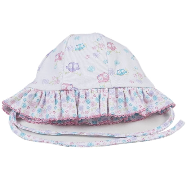 Kissy Kissy - What A Hoot  Reversible Floppy Hat