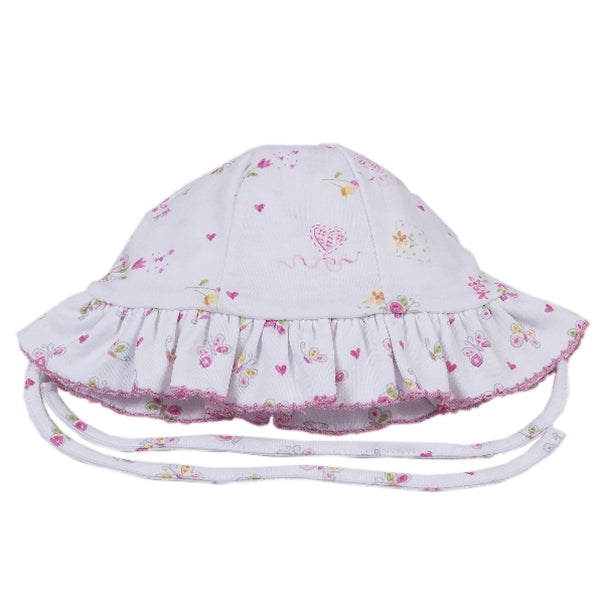 Kissy Kissy - Fairy Garden  Reversible Floppy Hat