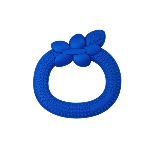I Play - Silicone Fruit Teether - Blueberry