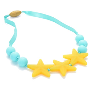 Chewbeads - Juniorbeads Broadway Necklace - Lemon Ice