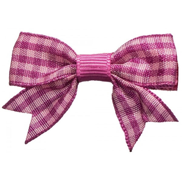 No Slippy Hair Clippy - Stella Checked Baby Bow - Beauty