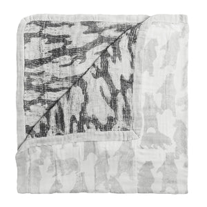 Aden and Anais - Silky Soft  Dream Blanket - Foragers Bear