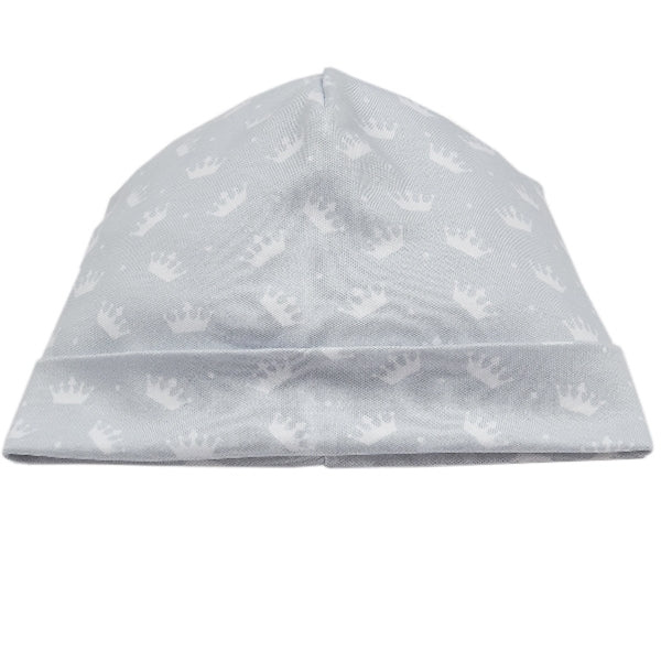 Kissy Kissy - Royalty  Print Hat - Silver