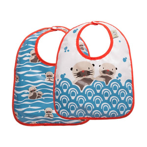Ore - Mini Bib Gift Set-of-Two - Baby Otter