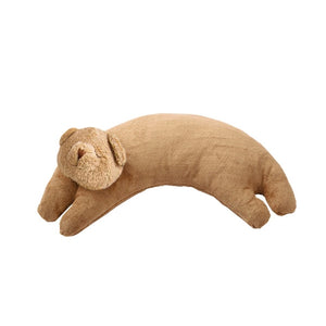 Angel Dear - Curved Pillow - Brown Bear