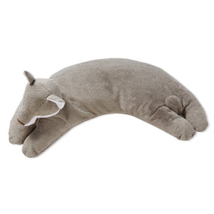 Angel Dear - Curved Pillow - Grey Fox