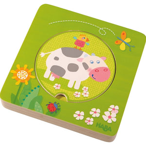 Haba - On the Farm Wooden Puzzle