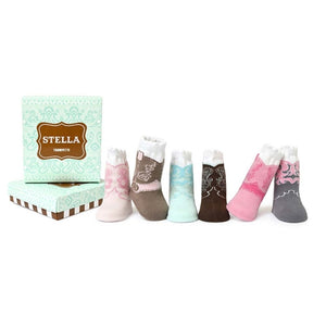Trumpette - Stella 6 Pack Assorted Socks