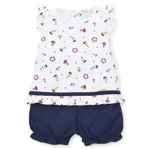 Kissy Kissy - Summer Sails - Sunsuit Set