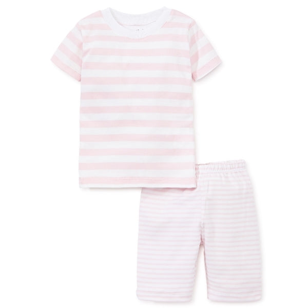 Kissy Kissy - 2019 Pajamas - Stripes Short Pj Set - Pink