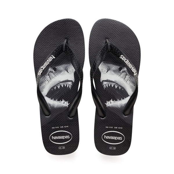 Havaianas - Top Photo Print Sandal Black/Black/Grey