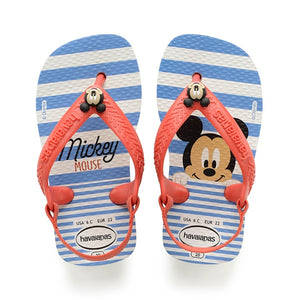Havaianas - Baby Disney Classics Sandal White/Strawberry
