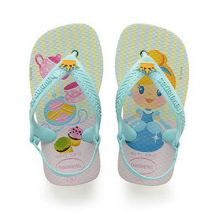Havaianas - Baby Disney Princess Sandal White/Ice Blue