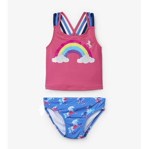 Hatley - Rainbow Unicorns Sporty Tankini Set