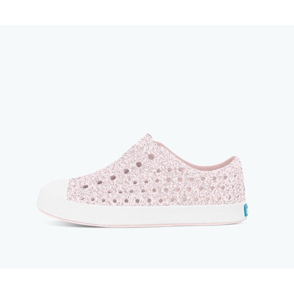 Native Shoes - Jefferson Bling - Milk Pink/Shell White