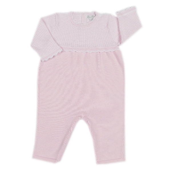 Kissy Kissy - Winter Solstice  Knit Playsuit - Pink