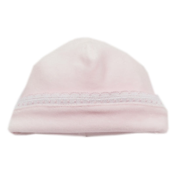 Kissy Kissy - Fall Homecoming  Velour Hat - Pink