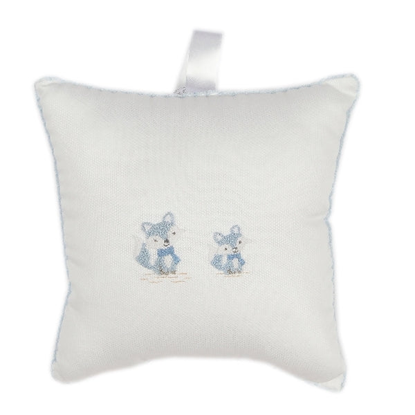 Kissy Kissy - My Little Fox  Fox Decorative Musical Pillow (Tulle Bag) - Wh./Lt.Blue