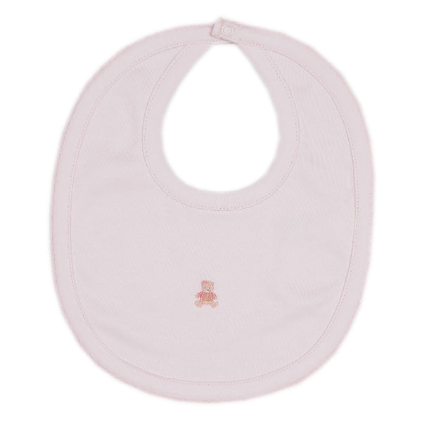 Kissy Kissy - Scattered Baby Bears  Bib - Pink