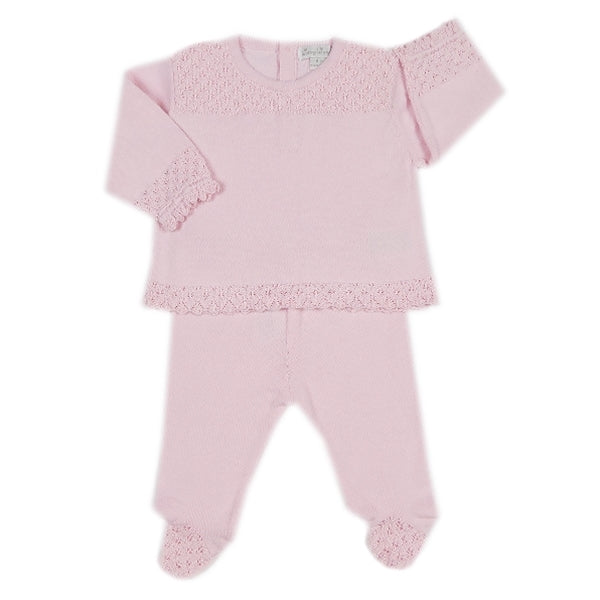 Kissy Kissy - Tender Touches  Sweater And Pant Set - Pink
