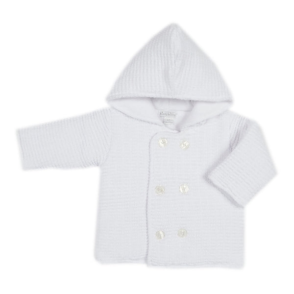 Kissy Kissy - First Flurry  Knit Jacket - White