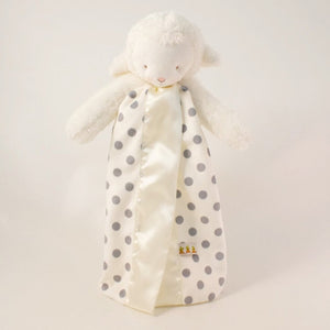 Bunnies By The Bay - Polka Dot Buddy Blanket Lamb Grey