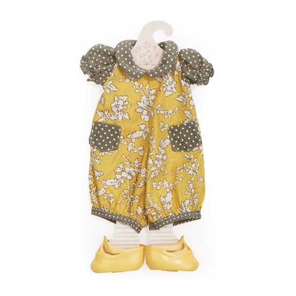 Bunnies By The Bay - Mustard Seed Romper - Doll Clothes