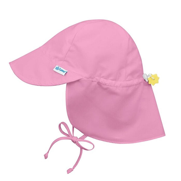 I Play - Flap Sun Protection Hat - Light Pink
