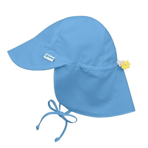 I Play - Flap Sun Protection Hat - Light Blue
