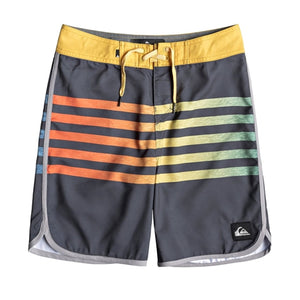 Quiksilver - Boy's 8-16 Everyday Grass Roots Boardshorts - EBONY