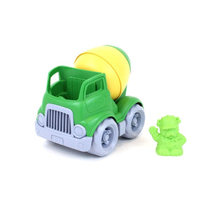 Green Toys - Construction Truck - Mixer Yellow