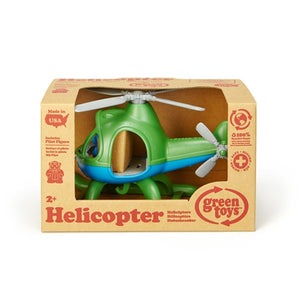 Green Toys - Helicopter Green