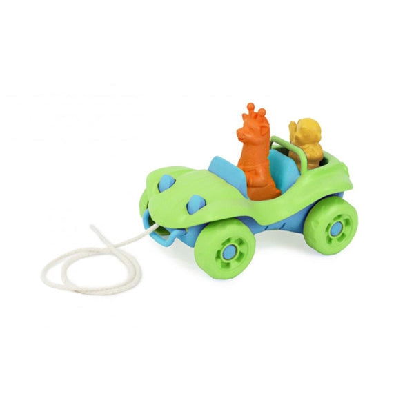 Green Toys - Dune Buggy Pull Toy - Green