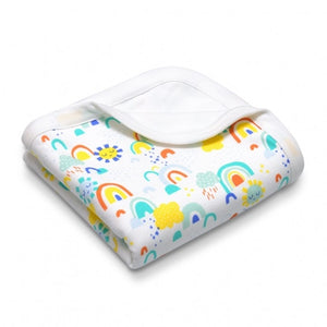 Apple Park - Organic Cotton Baby Blanket - Sunshine