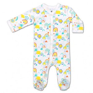 Apple Park - Organic Cotton Footie - Sunshine