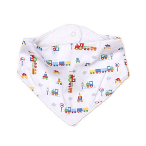 Kissy Kissy - All Aboard - Print Bib