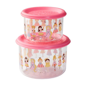 Ore - Good Lunch Snack Containers Small Set-of-Two - Princess