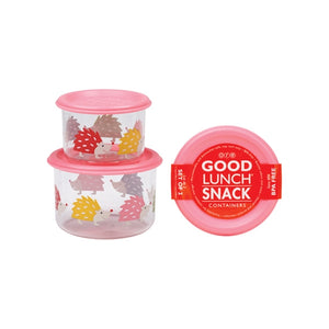 Ore - Good Lunch Snack Containers Small Set-of-Two - Hedgehog