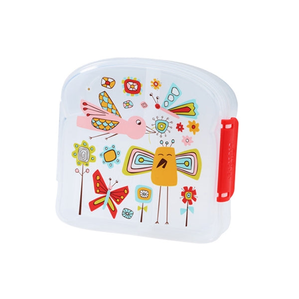 Ore - Good Lunch Sandwich Box - Birds and Butterflies