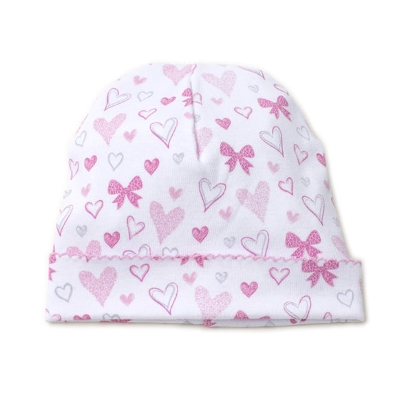 Kissy Kissy - Hearts Abound - Print Hat